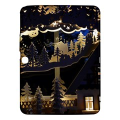 Christmas Advent Candle Arches Samsung Galaxy Tab 3 (10 1 ) P5200 Hardshell Case