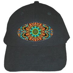 Color Abstract Pattern Structure Black Cap