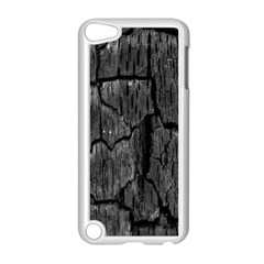 Coal Charred Tree Pore Black Apple Ipod Touch 5 Case (white) by Amaryn4rt