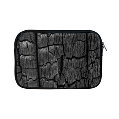 Coal Charred Tree Pore Black Apple Ipad Mini Zipper Cases by Amaryn4rt