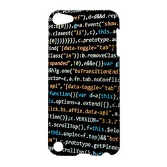 Close Up Code Coding Computer Apple Ipod Touch 5 Hardshell Case by Amaryn4rt