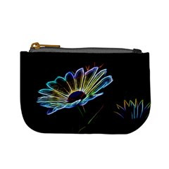 Flower Pattern Design Abstract Background Mini Coin Purses by Amaryn4rt