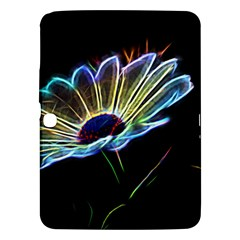 Flower Pattern Design Abstract Background Samsung Galaxy Tab 3 (10 1 ) P5200 Hardshell Case  by Amaryn4rt