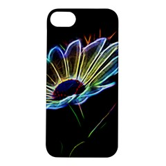 Flower Pattern Design Abstract Background Apple Iphone 5s/ Se Hardshell Case by Amaryn4rt