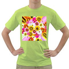 Flowers Blossom Bloom Nature Plant Green T Shirt by Amaryn4rt