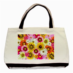 Flowers Blossom Bloom Nature Plant Basic Tote Bag (two Sides)