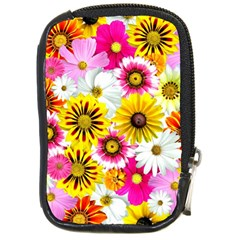 Flowers Blossom Bloom Nature Plant Compact Camera Cases by Amaryn4rt