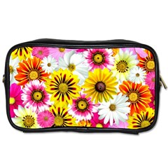 Flowers Blossom Bloom Nature Plant Toiletries Bags 2 Side by Amaryn4rt