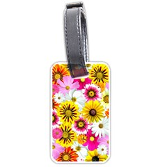 Flowers Blossom Bloom Nature Plant Luggage Tags (one Side)  by Amaryn4rt