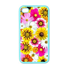 Flowers Blossom Bloom Nature Plant Apple Iphone 4 Case (color) by Amaryn4rt