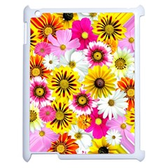 Flowers Blossom Bloom Nature Plant Apple Ipad 2 Case (white) by Amaryn4rt