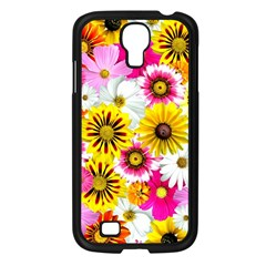 Flowers Blossom Bloom Nature Plant Samsung Galaxy S4 I9500/ I9505 Case (black)