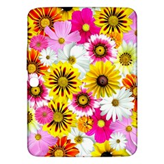 Flowers Blossom Bloom Nature Plant Samsung Galaxy Tab 3 (10 1 ) P5200 Hardshell Case  by Amaryn4rt