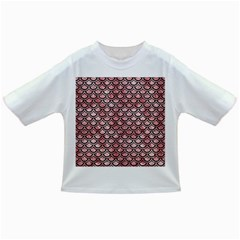 Scales2 Black Marble & Red & White Marble (r) Infant/toddler T Shirt