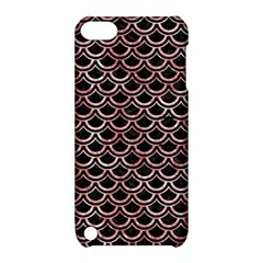 Scales2 Black Marble & Red & White Marble Apple Ipod Touch 5 Hardshell Case With Stand by trendistuff