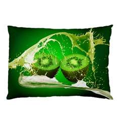 Kiwi Fruit Vitamins Healthy Cut Pillow Case (two Sides) by Amaryn4rt