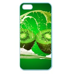 Kiwi Fruit Vitamins Healthy Cut Apple Seamless Iphone 5 Case (color) by Amaryn4rt