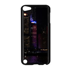 Hong Kong China Asia Skyscraper Apple Ipod Touch 5 Case (black) by Amaryn4rt