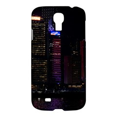 Hong Kong China Asia Skyscraper Samsung Galaxy S4 I9500/i9505 Hardshell Case