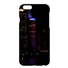 Hong Kong China Asia Skyscraper Apple Iphone 6 Plus/6s Plus Hardshell Case by Amaryn4rt