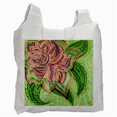 Colorful Design Acrylic Recycle Bag (one Side) by Amaryn4rt