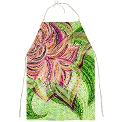 Colorful Design Acrylic Full Print Aprons by Amaryn4rt
