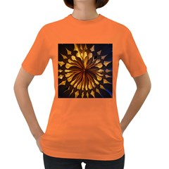 Light Star Lighting Lamp Women s Dark T-shirt by Amaryn4rt