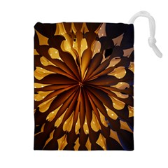 Light Star Lighting Lamp Drawstring Pouches (extra Large) by Amaryn4rt