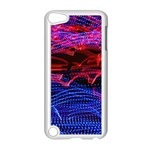 Lights Abstract Curves Long Exposure Apple iPod Touch 5 Case (White) Front