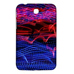 Lights Abstract Curves Long Exposure Samsung Galaxy Tab 3 (7 ) P3200 Hardshell Case  by Amaryn4rt
