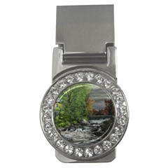 Landscape Summer Fall Colors Mill Money Clips (cz)