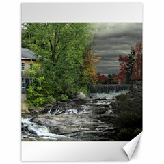 Landscape Summer Fall Colors Mill Canvas 18  X 24   by Amaryn4rt