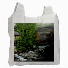 Landscape Summer Fall Colors Mill Recycle Bag (two Side)  by Amaryn4rt