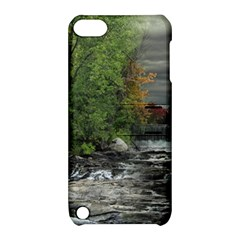 Landscape Summer Fall Colors Mill Apple Ipod Touch 5 Hardshell Case With Stand