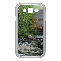 Landscape Summer Fall Colors Mill Samsung Galaxy Grand Duos I9082 Case (white)