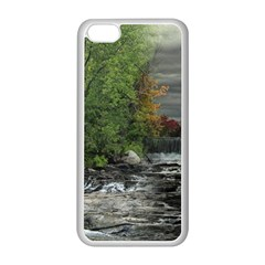 Landscape Summer Fall Colors Mill Apple Iphone 5c Seamless Case (white) by Amaryn4rt