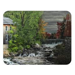 Landscape Summer Fall Colors Mill Double Sided Flano Blanket (large)  by Amaryn4rt