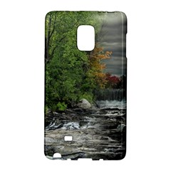Landscape Summer Fall Colors Mill Galaxy Note Edge by Amaryn4rt