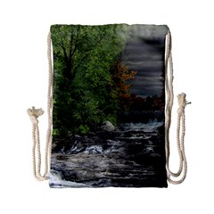 Landscape Summer Fall Colors Mill Drawstring Bag (small) by Amaryn4rt