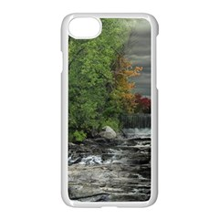 Landscape Summer Fall Colors Mill Apple Iphone 7 Seamless Case (white)