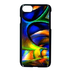 Light Texture Abstract Background Apple Iphone 7 Seamless Case (black) by Amaryn4rt