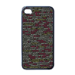 Full Frame Shot Of Abstract Pattern Apple Iphone 4 Case (black)