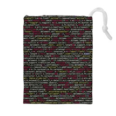 Full Frame Shot Of Abstract Pattern Drawstring Pouches (extra Large)