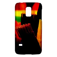 Plastic Brush Color Yellow Red Galaxy S5 Mini by Amaryn4rt