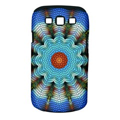 Pattern Blue Brown Background Samsung Galaxy S Iii Classic Hardshell Case (pc+silicone)