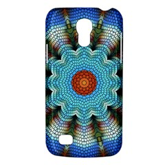 Pattern Blue Brown Background Galaxy S4 Mini by Amaryn4rt