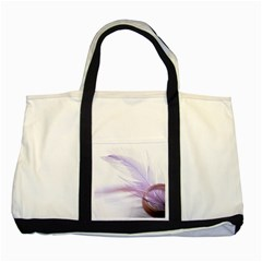 Ring Feather Marriage Pink Gold Two Tone Tote Bag by Amaryn4rt