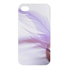 Ring Feather Marriage Pink Gold Apple Iphone 4/4s Hardshell Case by Amaryn4rt