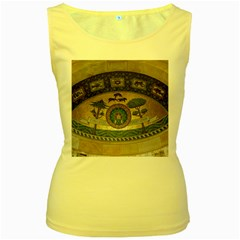 Peace Monument Werder Mountain Women s Yellow Tank Top