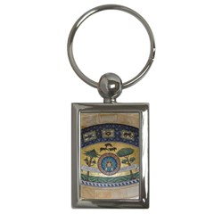 Peace Monument Werder Mountain Key Chains (rectangle)  by Amaryn4rt